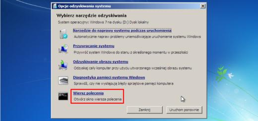 Naprawa Windows 7