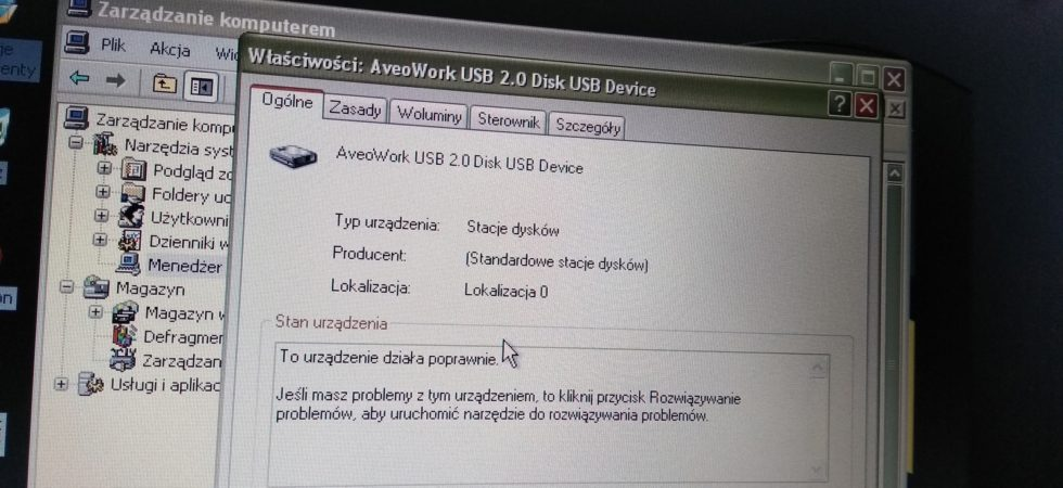 AveoWorklogs USB Drive